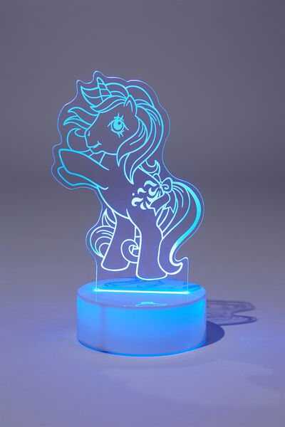 Awesome Etching Light, LCN BLUE MY LITTLE PONY