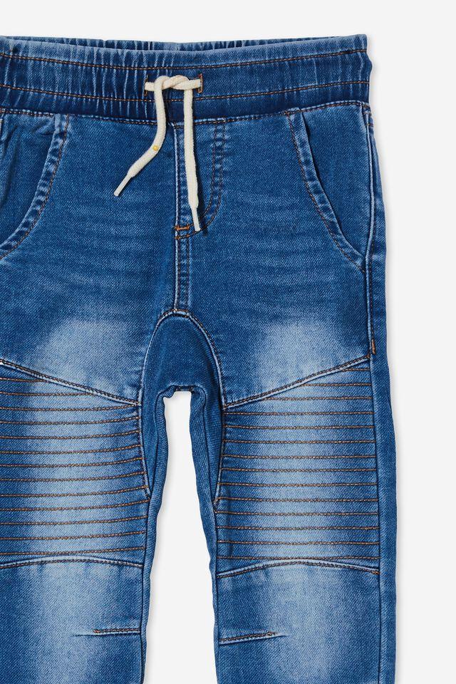 Slouch Jogger Jean, BONDI MID BLUE