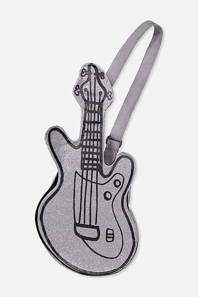 Betty Bass Guitar Backpack, BODACIOUS HEART