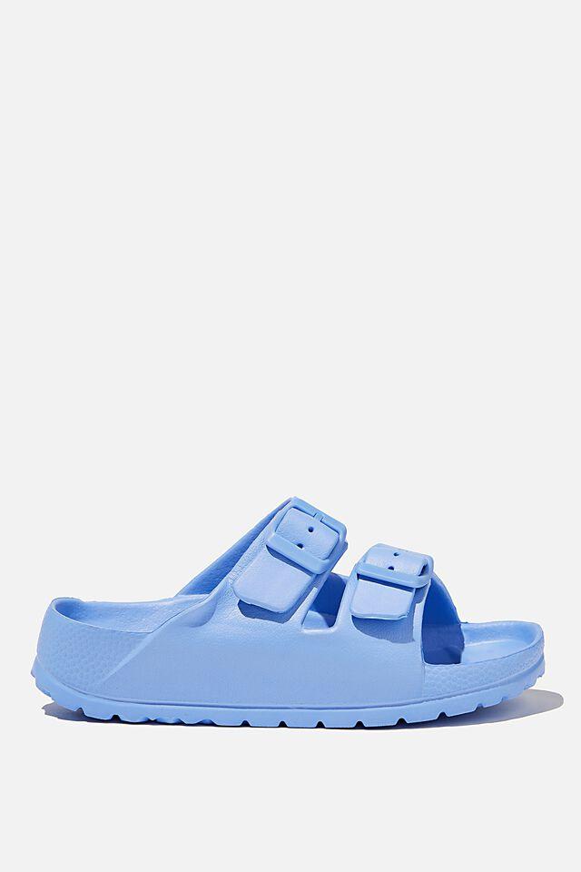 Twin Strap Slide, DUSK BLUE