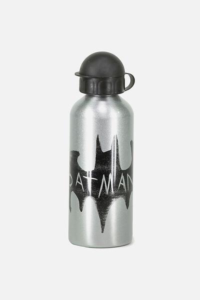 Aluminium Drink Bottle, BLACK BATMAN