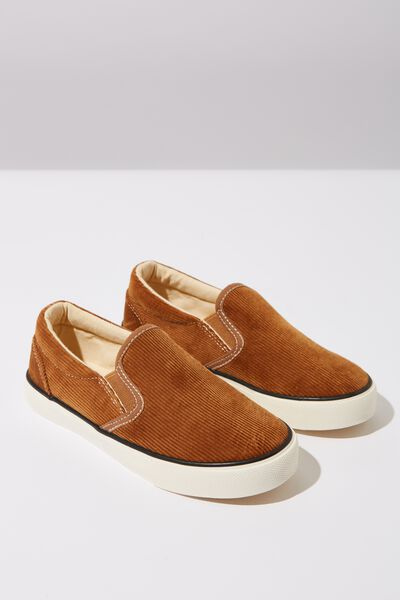Classic Slip On, TAN CORD