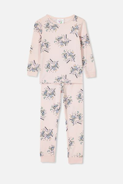 Ruby Long Sleeve Girls Pyjamas, LCN HAS MY LITTLE PONY/STAR