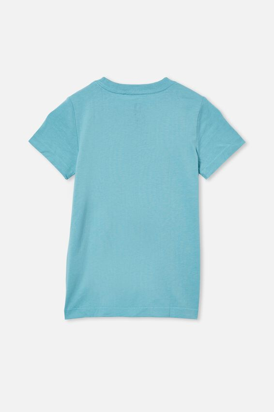 Max Short Sleeve Tee, BLUE ICE/SUN FUN