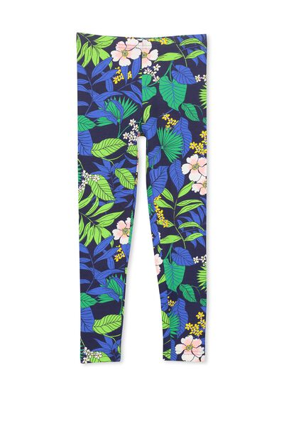 Huggie Tights, PEACOAT/SUMMER TROPICAL FLORAL
