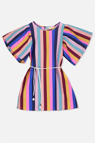 Livvy Dress, MULTI STRIPE