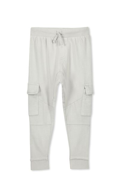 Dave Active Trackpant, CLOUD GREY