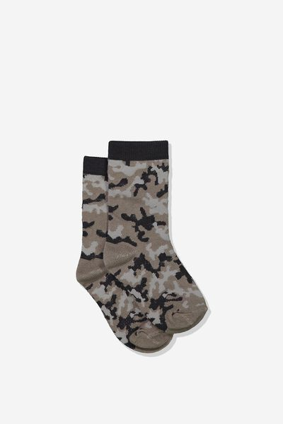Fashion Kooky Socks, CAMO