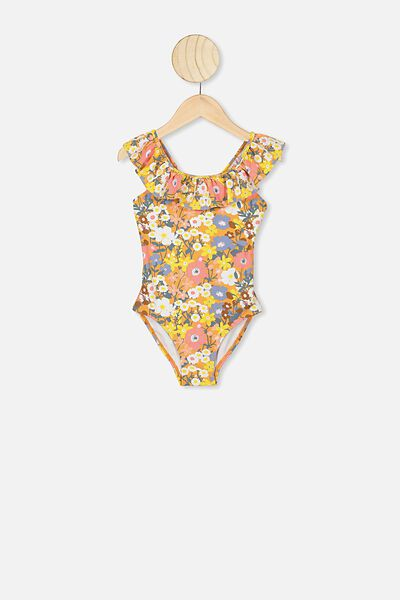 Frankie Frill One Piece, MEADOW FLORAL