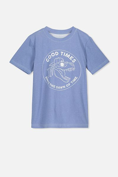 The Upside Short Sleeve Tee, HYPER COLOUR/GOOD TIMES