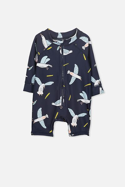 Harris One Piece, WASHED NAVY/SEAGULL