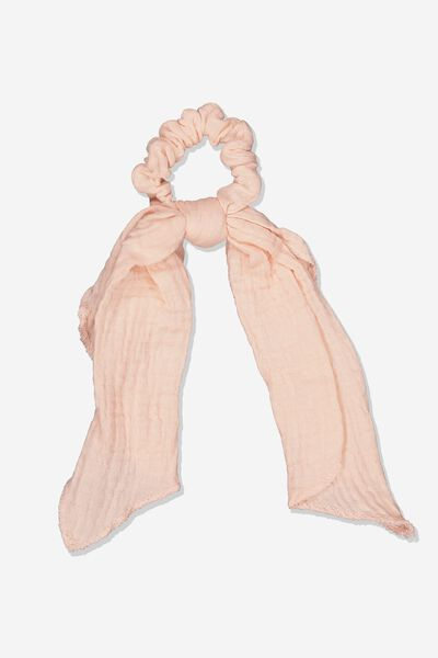 Scarf Scrunchie, PEACH