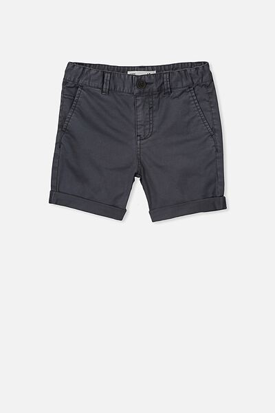 Walker Chino Short, CHARCOAL