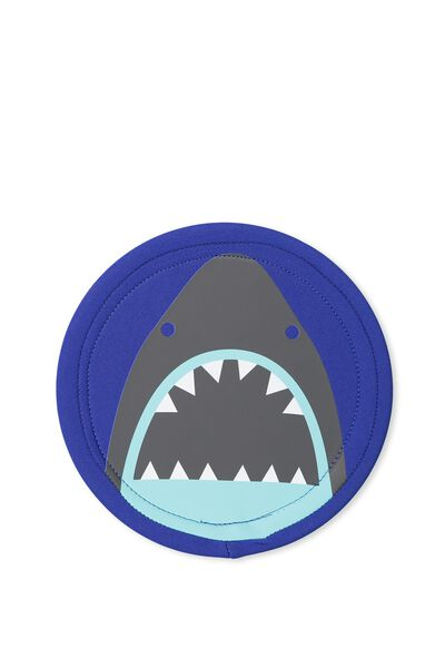 Kids Soft Flying Disc, GREY SHARK