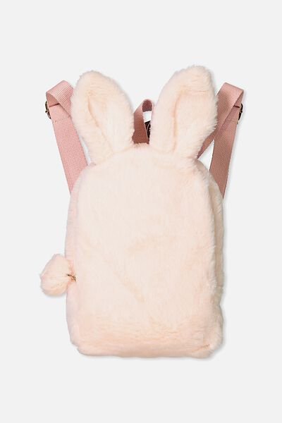 Bunny Backpack, POWDER PINK