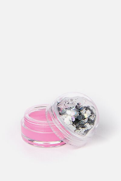 My Glitter Dome Lip Balm, BERRY