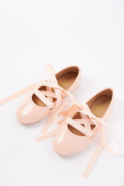 Ballet Flats, NUDE PATENT