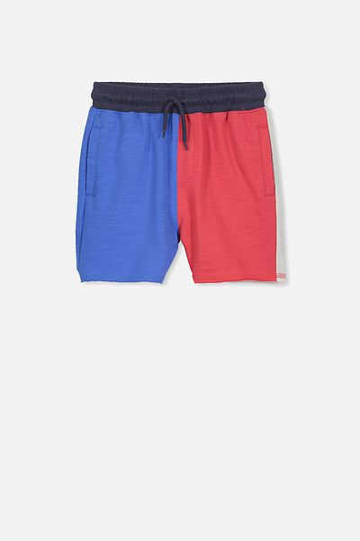 Henry Slouch Short, YARD BLUE/PANEL