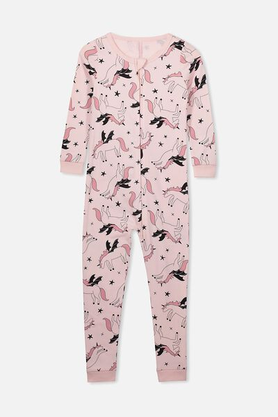 Violet Snug All In One, FLYING UNICORN/PINK