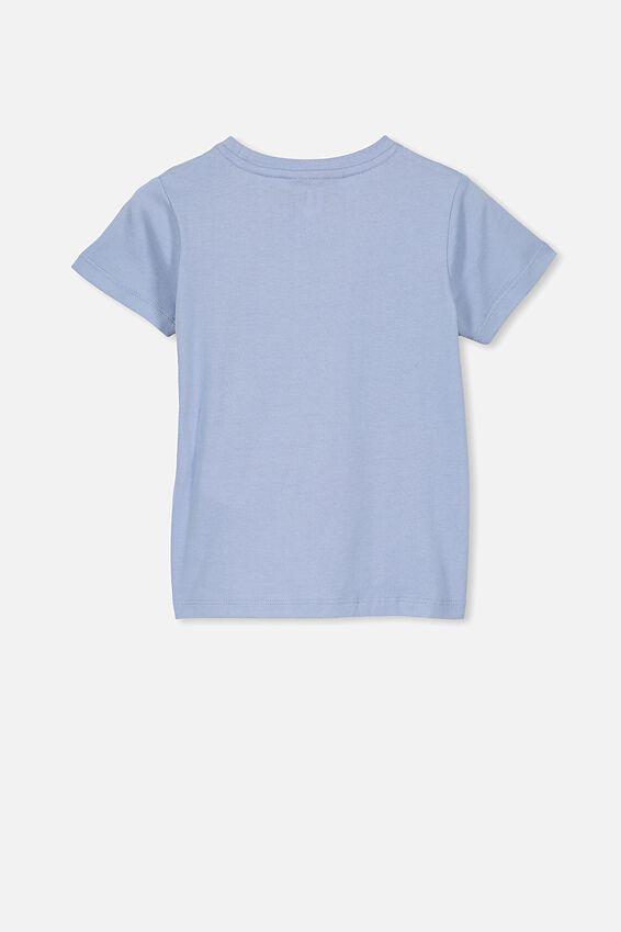 Lux Short Sleeve Tee, LCN MT DUSTY BLUE/BIGGIE ABSTRACT/MAX