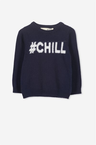 Milly Knit, PEACOAT/CHILL