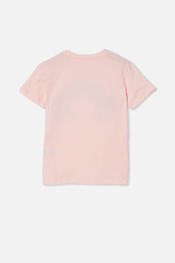 Stevie Short Sleeve Embellished Tee, CRYSTAL PINK/ RAINBOW UNICORN