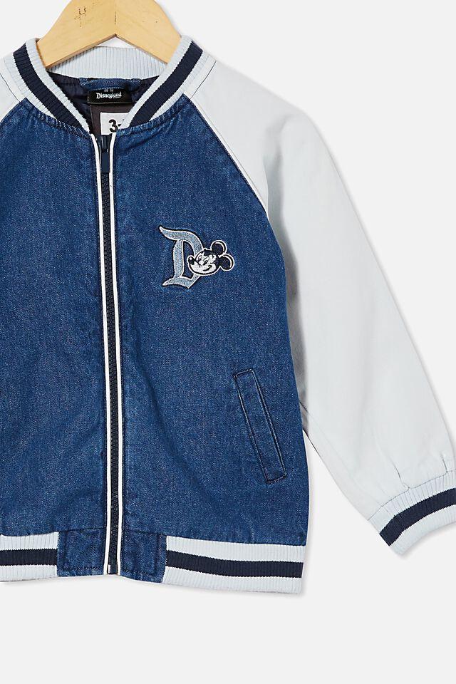 Disneyland Bomber Jacket, LCNDIS MID BLUE/DISNEYLAND