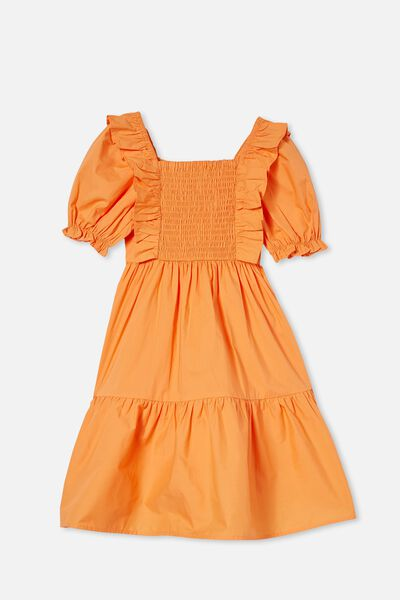 Love Short Sleeve Dress, MELON POP