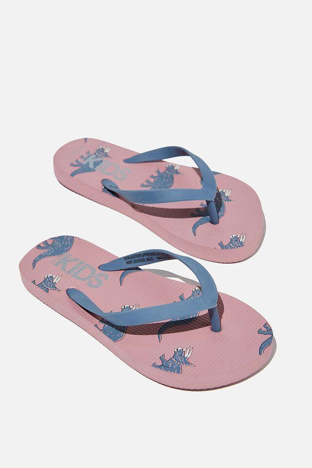 Printed Flip Flop, DINO ZEPHYR