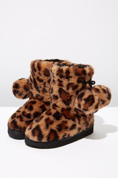 Novelty Homeboot, YETTI LEOPARD HB