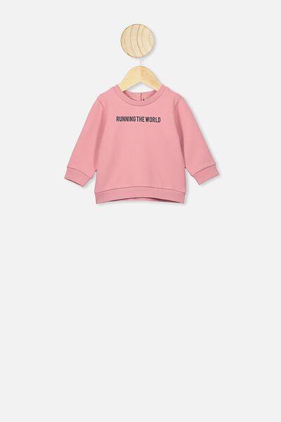 Bobbi Sweater, MUSK ROSE/RUNNING THE WORLD