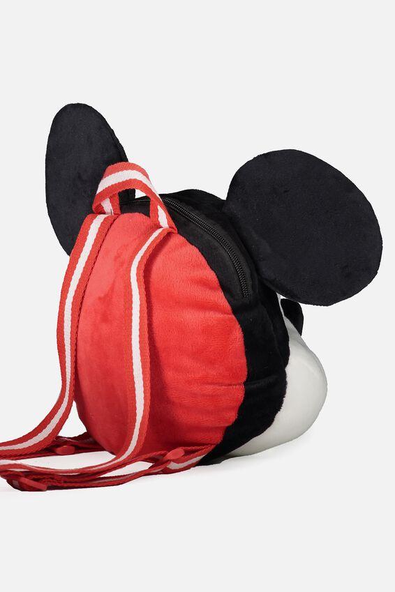 Plush Animal Backpack, MICKEY
