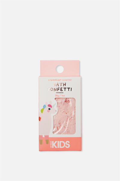 Kids Bath Confetti, STRAWBERRY UNICORN