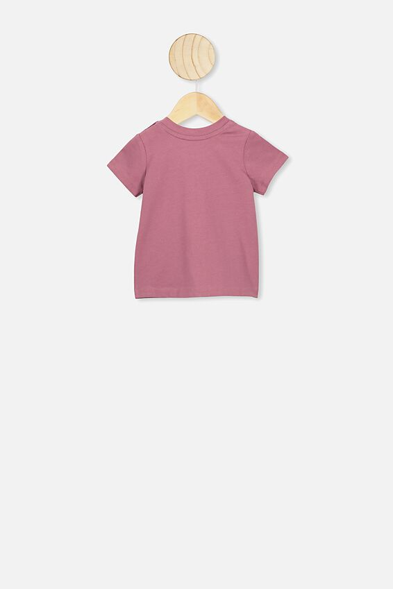Jamie Short Sleeve Tee, VINTAGE BERRY/FLOWER CHILD