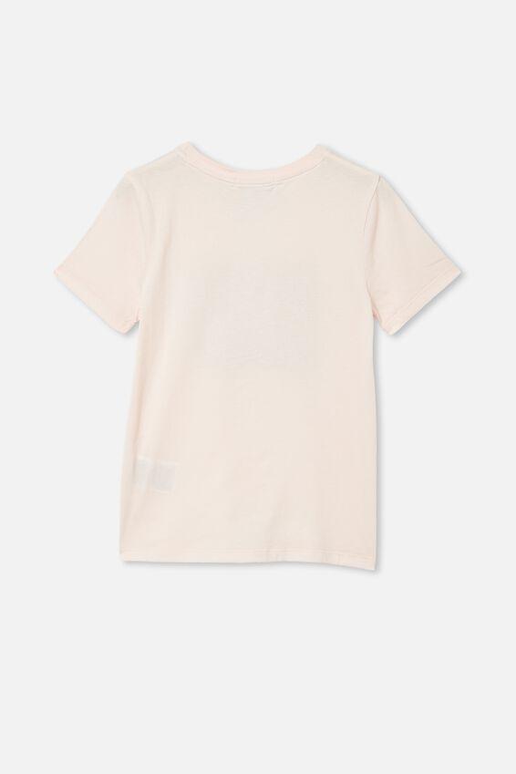 License Short Sleeve Tee, LCN DIS BAMBI BESTIES/CRYSTAL PINK