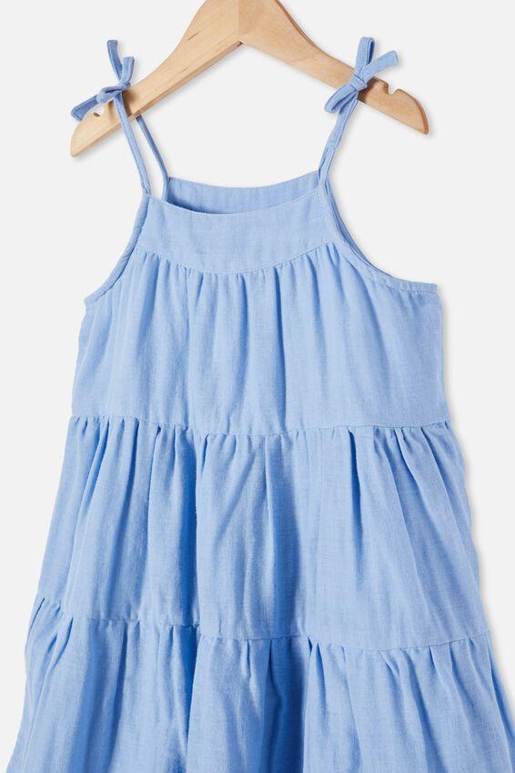 Hope Sleeveless Dress, DUSK BLUE