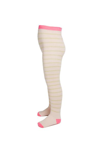 Tilly Tights, WINTER PINK/GOLD STRIPE