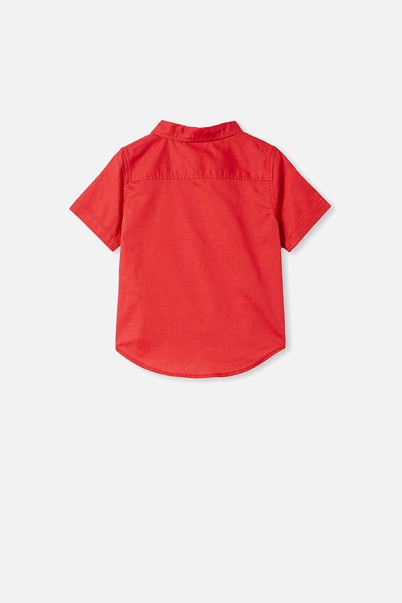 Resort Short Sleeve Shirt, LUCKY RED