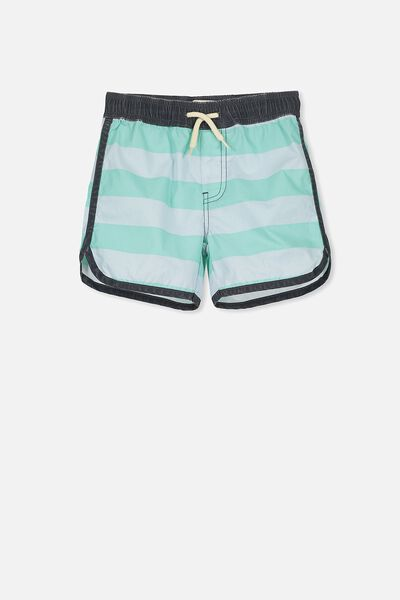 Murphy Swim Short, MINT/OSAKA STRIPE