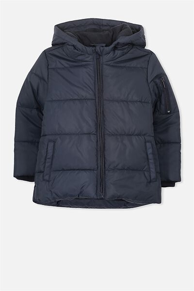 Peyton Puffer Jacket, TWILIGHT BLUE