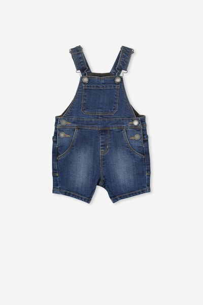 Taylor Dungaree, DENIM WASH