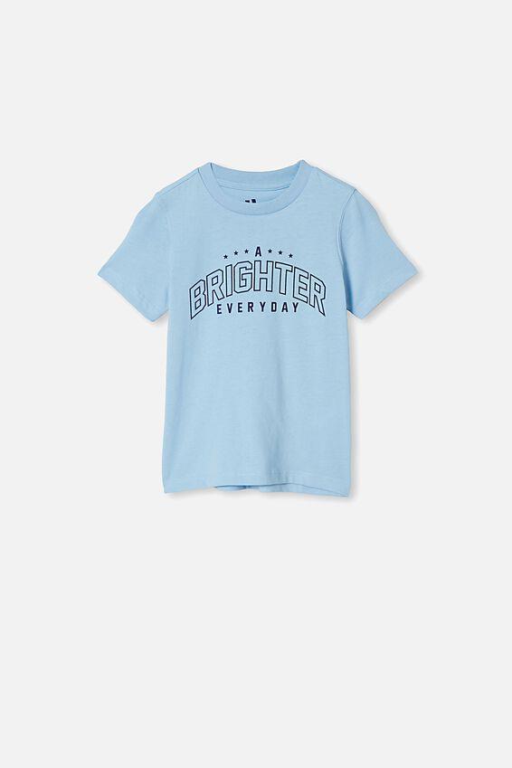 Max Skater Short Sleeve Tee, SKY HAZE/ A BRIGHTER EVERYDAY