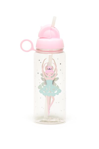 Spring Drink Bottle, BLUE BALLERINA