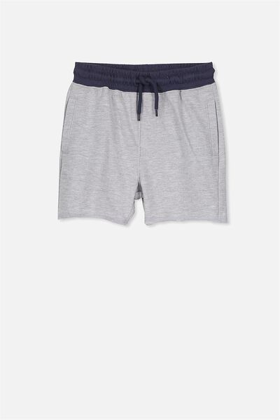 Henry Slouch Short, LT GREY/WASHED NAVY