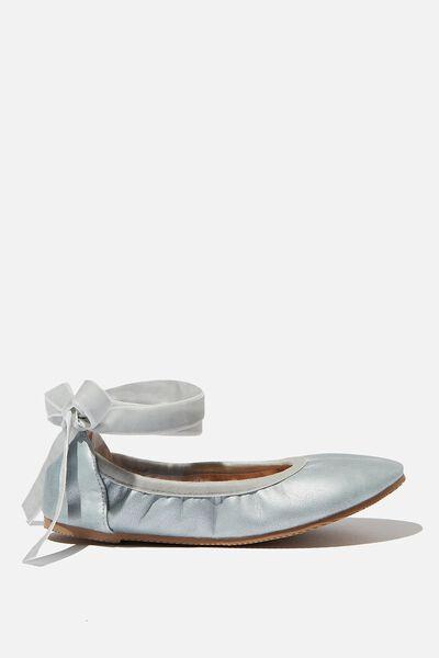 Primo Ballet Flat, ETHER VELVET RIBBON