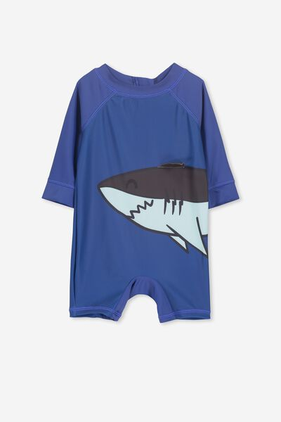 Harris One Piece, GALAXY BLUE/SHARK