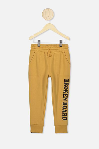 Heritage Trackpant, HONEY GOLD
