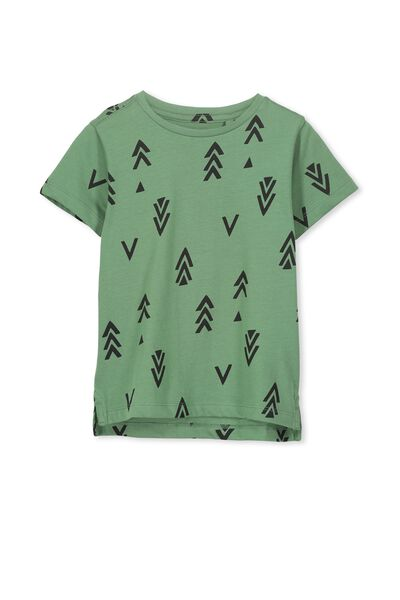 Max Short Sleeve Tee, GABBY GREEN ARROWS/SIS