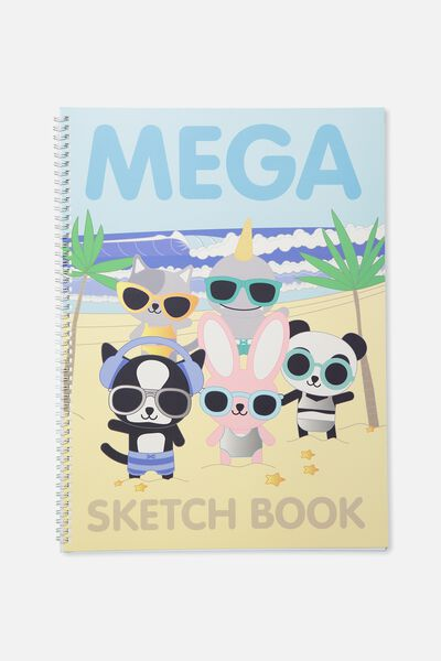 A3 Sketch Book, MEGA