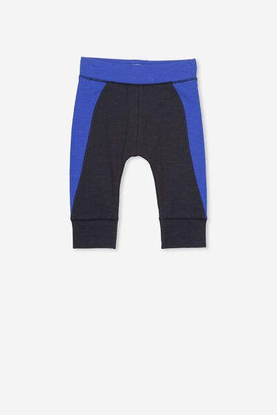 Mini Legging, NAVY/SPLICED